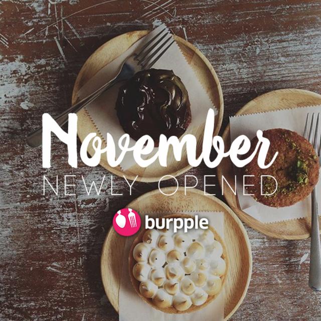 New Restaurants, Cafes And Bars in KL: November 2015