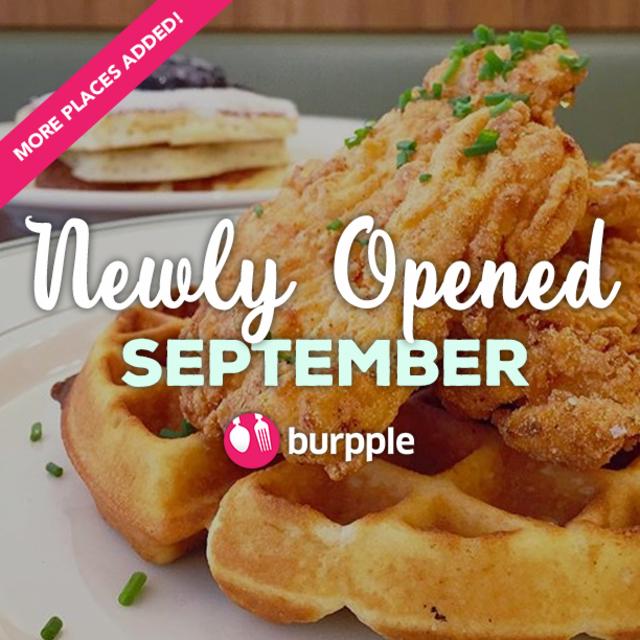 New Restaurants, Cafes And Bars: September 2015