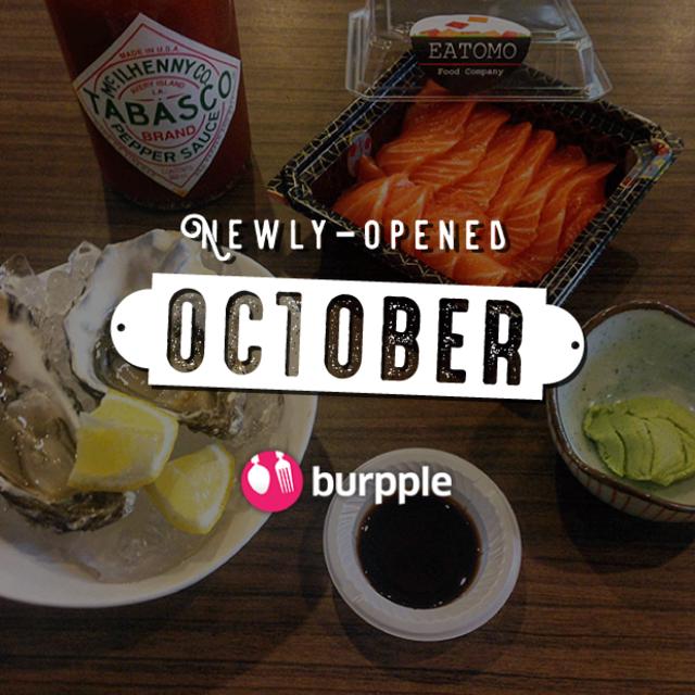 New Restaurants, Cafés And Bars in KL: October 2016