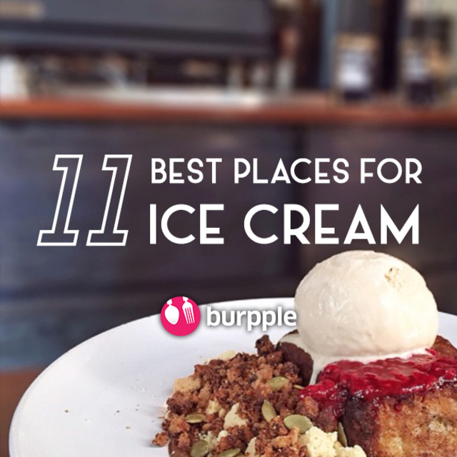 11 Best Places for Ice Cream