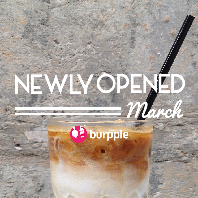 New Restaurants, Cafes and Bars: March 2015