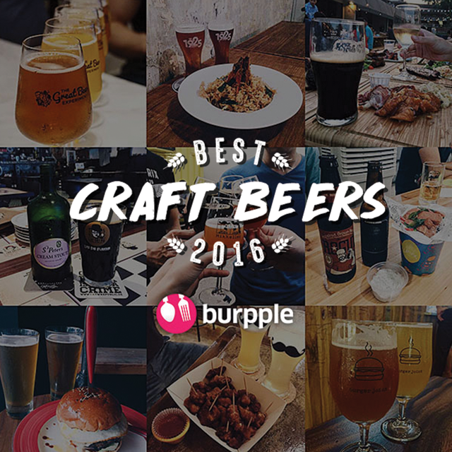 Best Places for Craft Beer in Singapore 2016