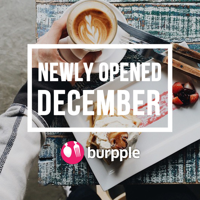 New Restaurants, Cafes and Bars: December 2014