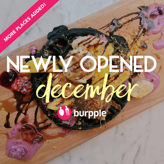 New Restaurants, Cafes And Bars: December 2015