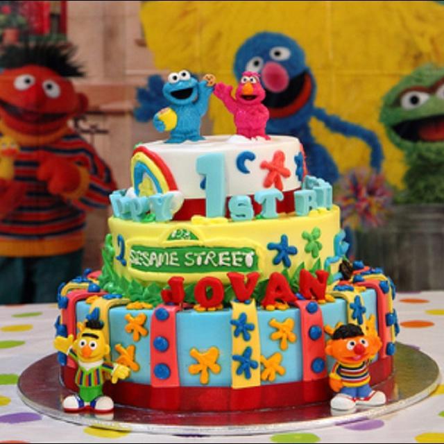 Pine Garden St Birthday Cake