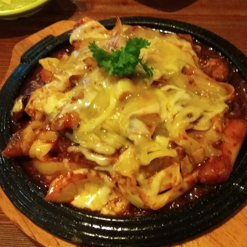 Hotplate Chicken With Cheese ($30)