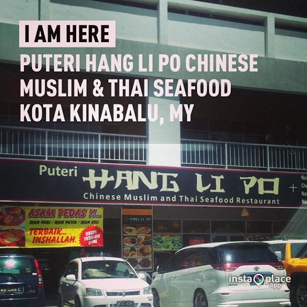 Li Po restaurant hang kota kinabalu