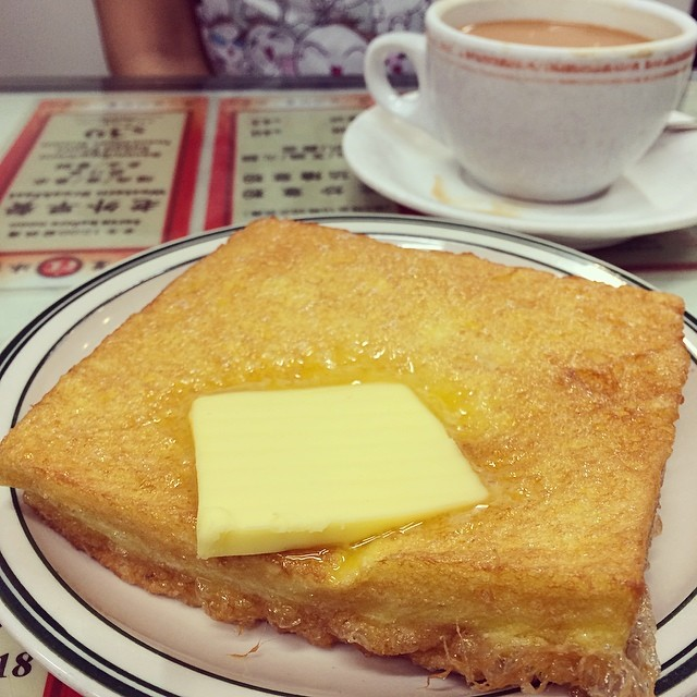 Butter french toast