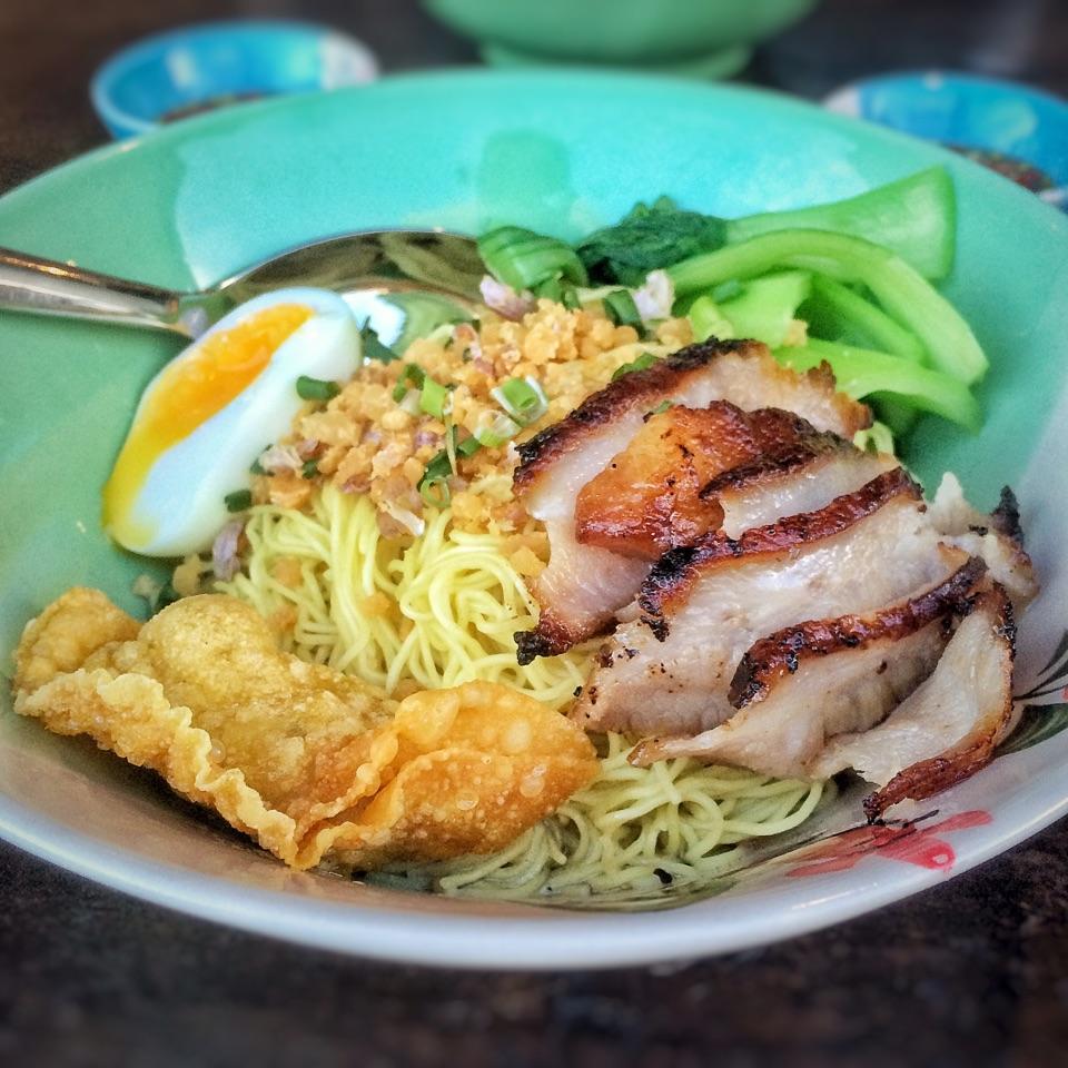 Baan Thai Wonton Noodles $6.8