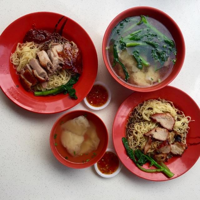 Duck Noodles; Wanton Noodles; Wanton Soup ( Approx $13 For 2)