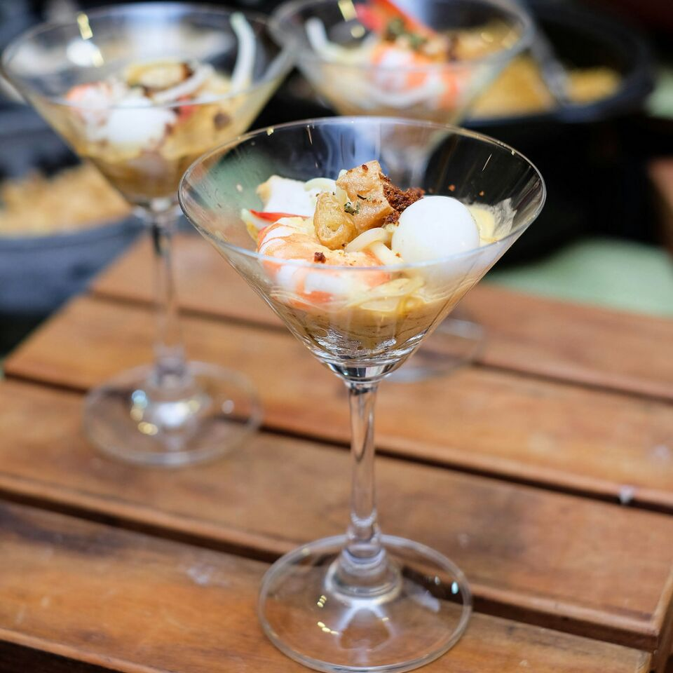 Savour My Dry Laksa at Oscar's Local Delights, Perankan Highlights Buffet