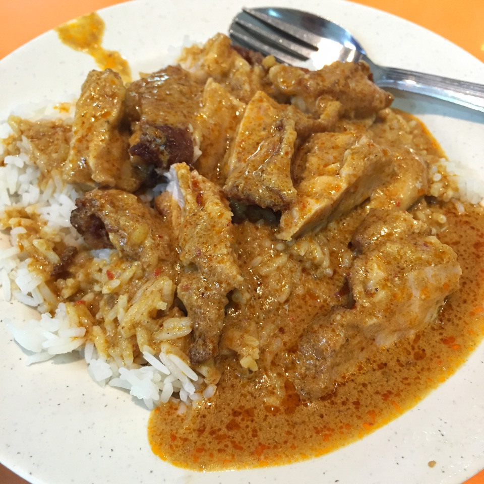 Chicken Cutlet Rice with Curry (medium: $6)