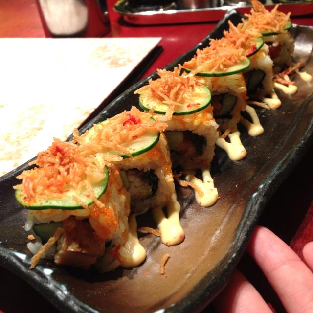 Spicy Unagi Roll😋