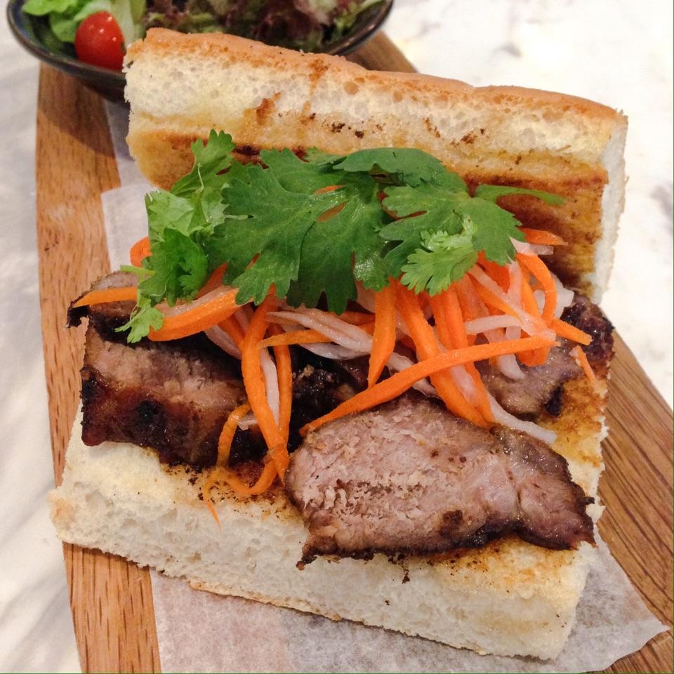 Char Siew Baguette Sandwich ($9.50)