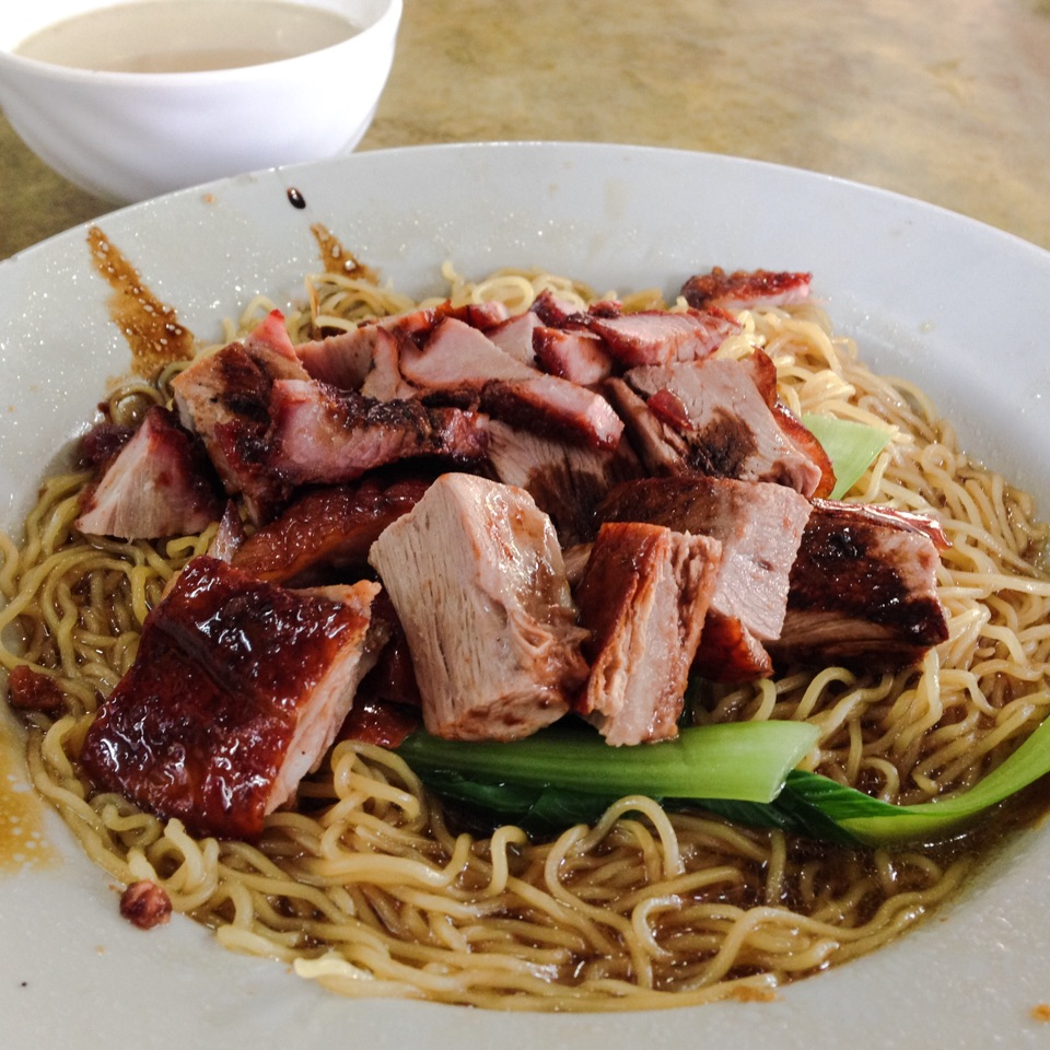 Roasted Duck, Char Siew Noodles