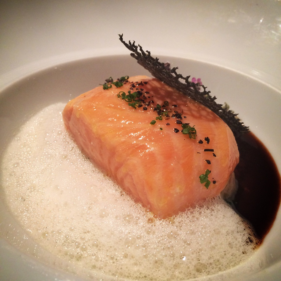 Fresh Salmon Confit (Part Of Dinner Set)