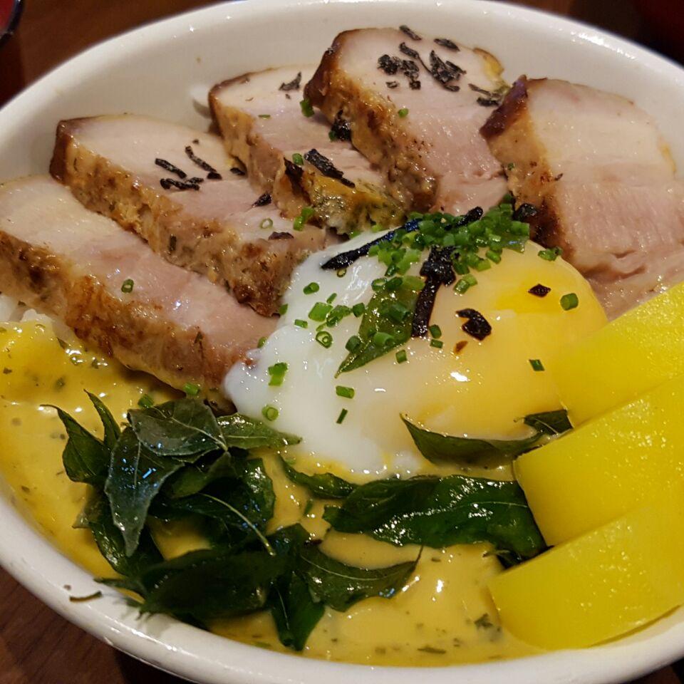 Salted Egg Yolk Char Siew Don