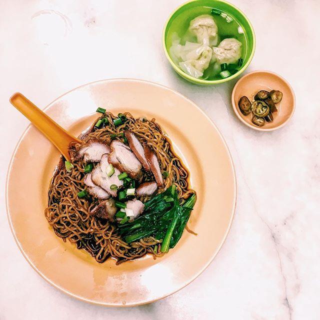 Wonton Noodles, Dry [RM6.50].