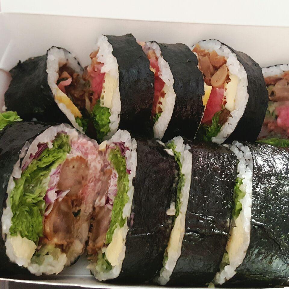 Korean Rice Roll