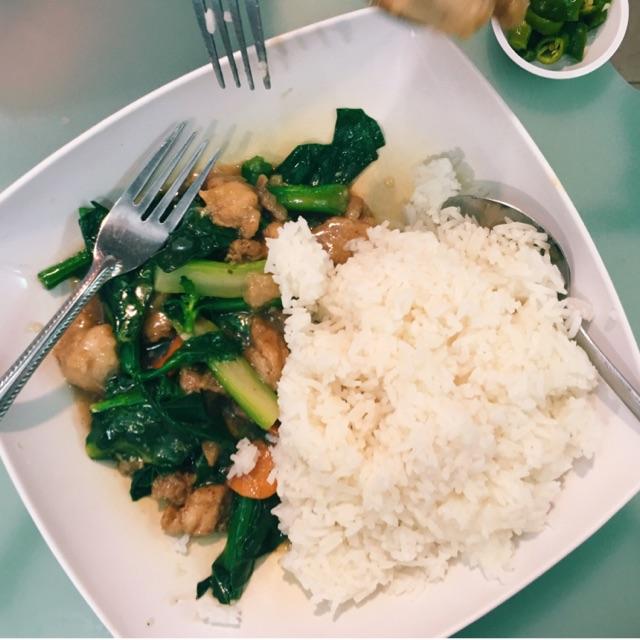 Kailan Chicken Rice