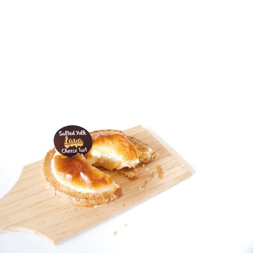 Salted Egg Yolk Cheese Tart