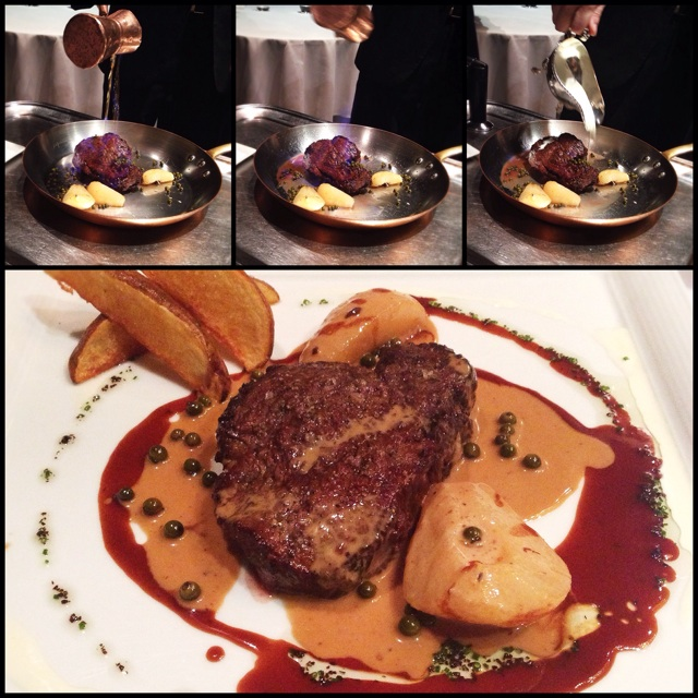 Oven-roasted Chateaubriand Steak (Serves 2: $180++)