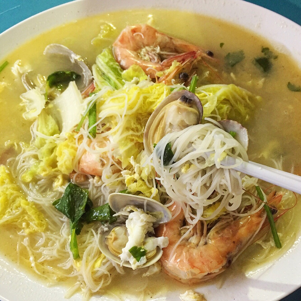 旺城 Seafood White Bee Hoon (small: $6)