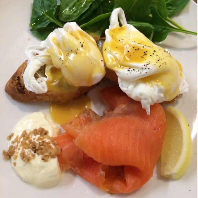 House Smoked Salmon Benedict