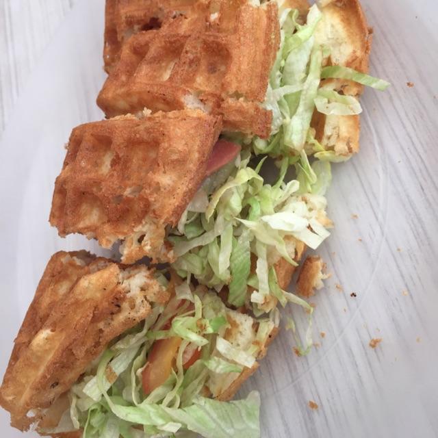 Ham Waffle