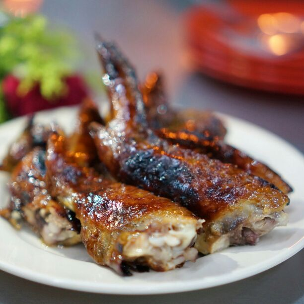 For Famous BBQ Chicken Wings