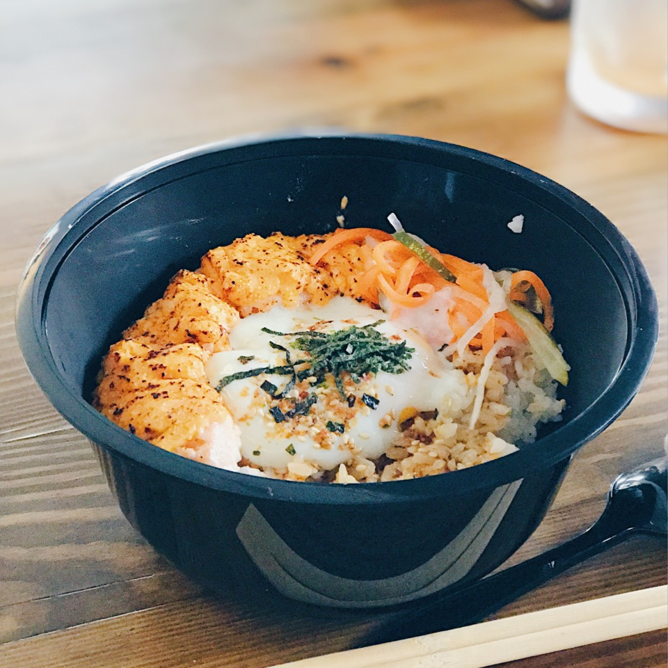 For Value-for-Money Rice Bowls in a Coffeeshop