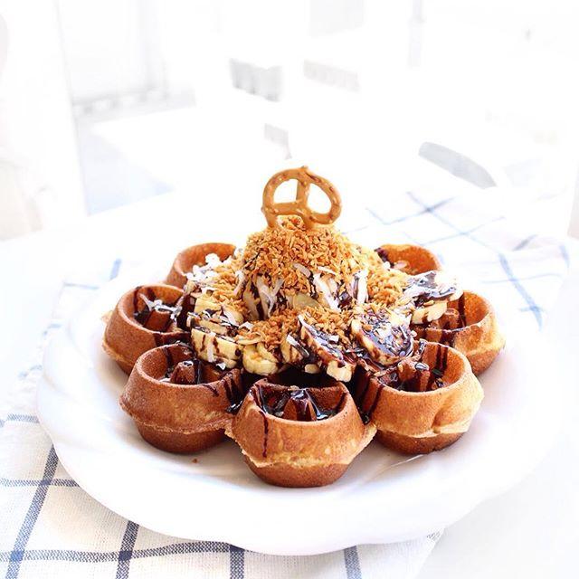 For Delightful, Insta-Worthy Waffles
