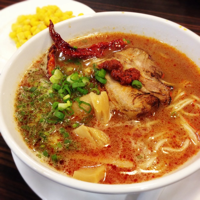 Spicy Ramen ($12++ for the small portion)