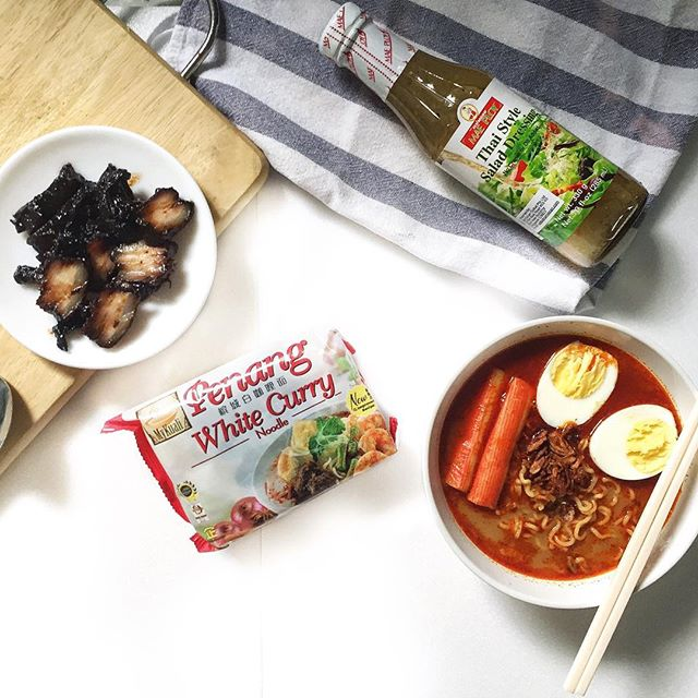 [GIVEAWAY] The new and improved recipe of MyKuali's Penang White Curry Instant Noodle is famed for its chewy noodles and a richer flavored curry than before.