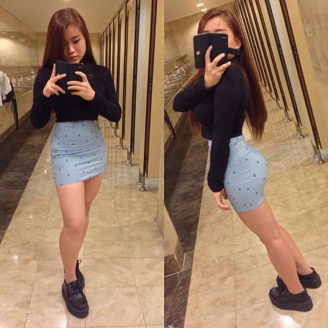 Asian Teens Bubble Butt Asian 67