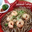 Sarawak Laksa @ RM5  My usual breakfast when back to Kuching.