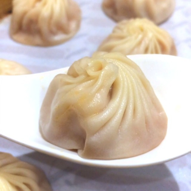 The service staff at Taiwan's Ding Tai Fung taught me a rhyme on how to eat Xiao Long Bao.