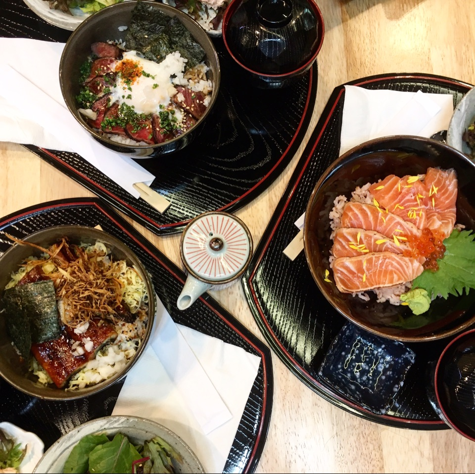 Japanese Lunch Bowls