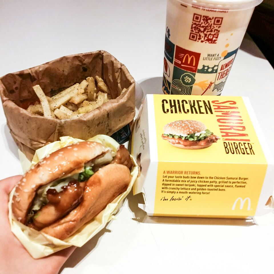 Chicken Samurai Burger by Triffany Lim