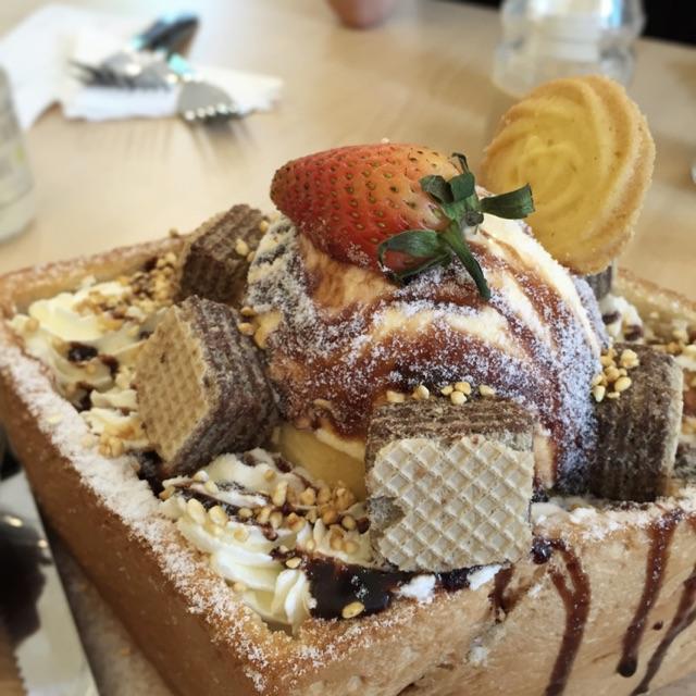 Honey Toast: Choco-Dip