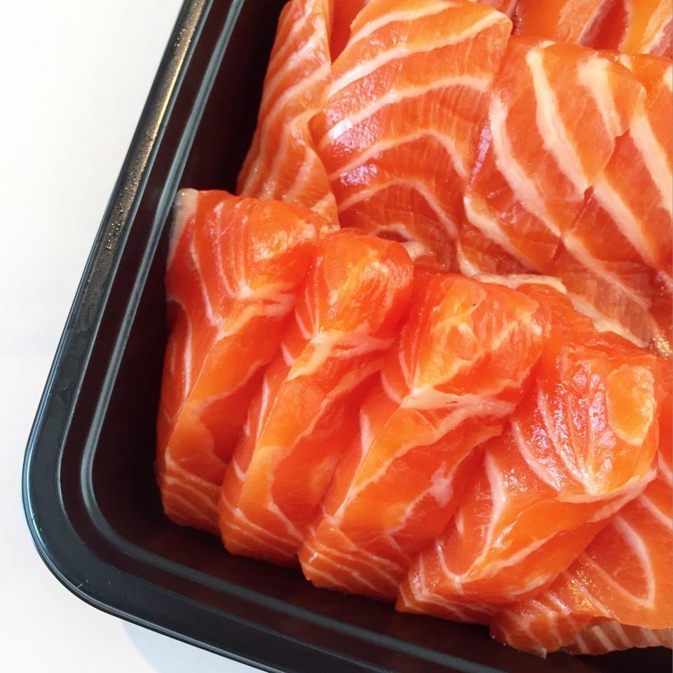 Salmon Sashimi For One