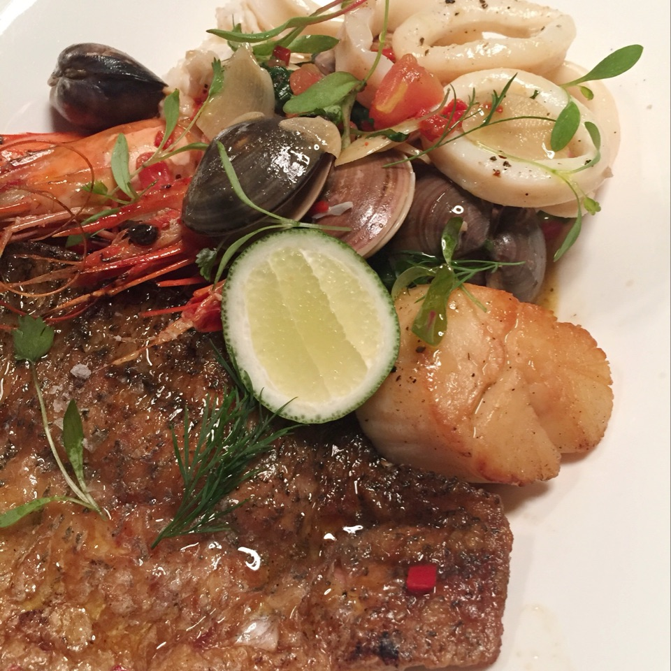 Secondi: Seafood Medley (RM128)