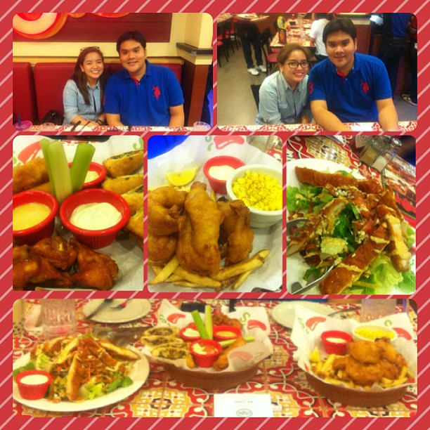 Chili's with The Champ😘 #lateupload #chilis #foodie #foodtripping @charlesgarcia03