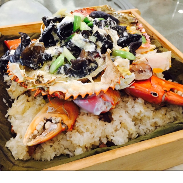 Glutinous Rice With Crabs