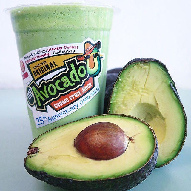 how to make avocado fruit juice