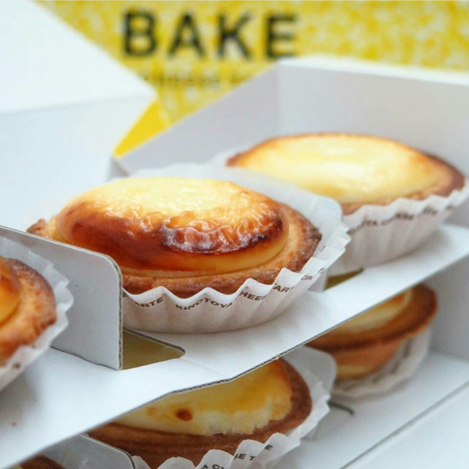 cheese tart ($19.50 for 6) @ ion