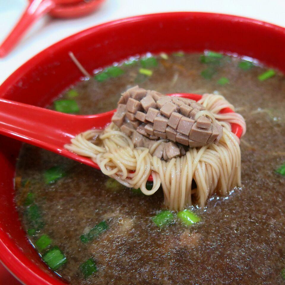 kidney mee sua ($5) @ seng kee black chicken herbal soup