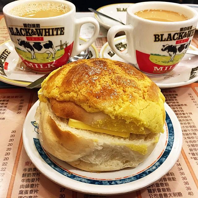 Said as 'the best polo bun' in Hong Kong.