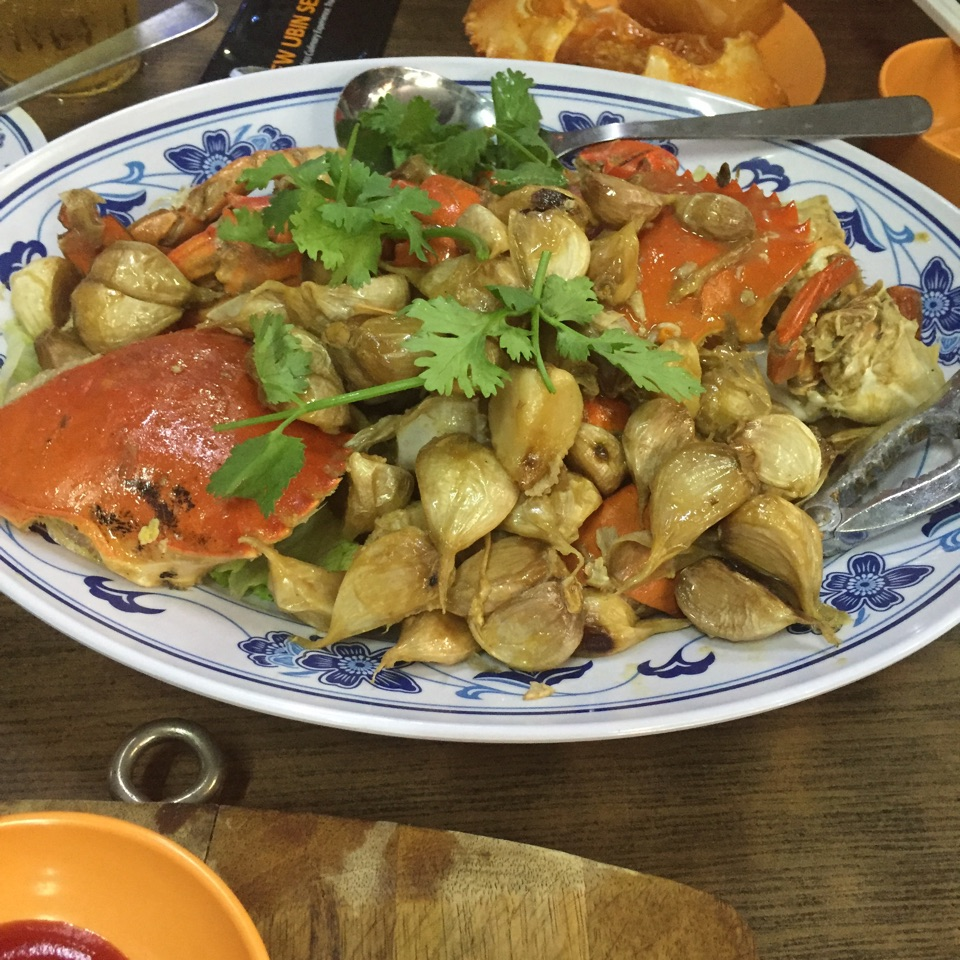 Garlic Style Crab