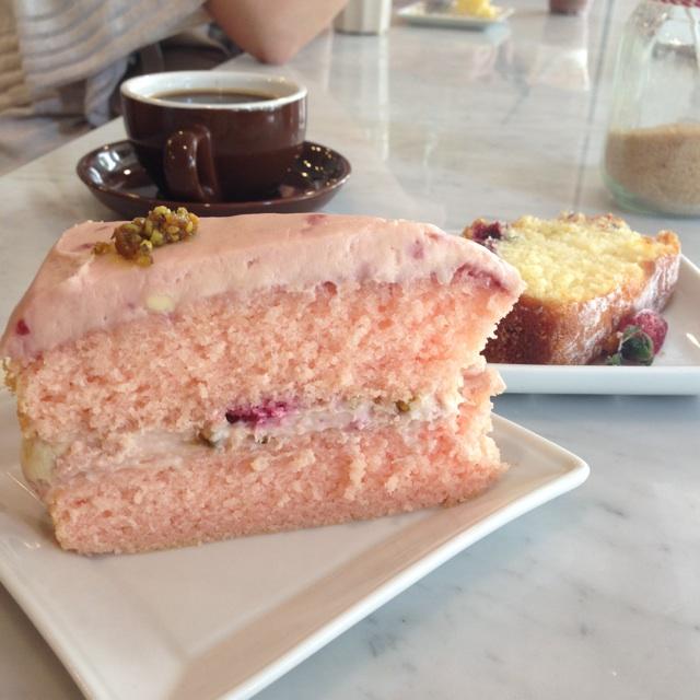 Blossom, Elderflower & Cranberry Lemon Tea Cake
